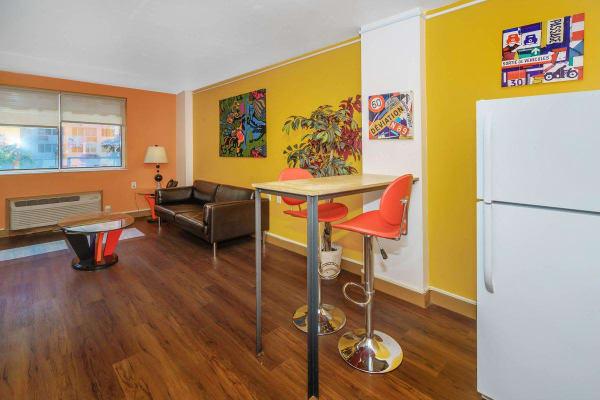 Urban Flats apartment living room