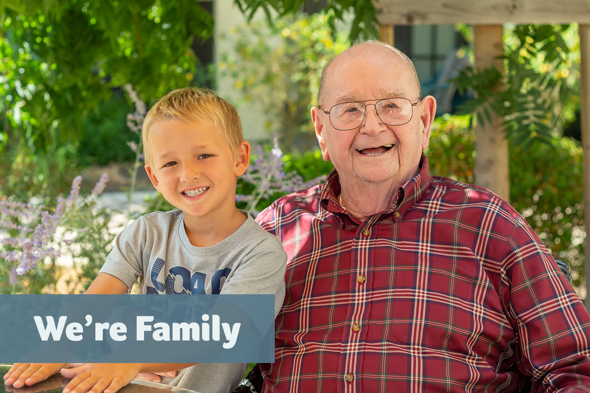 memory care with compassion at Merrill Gardens at Oceanside