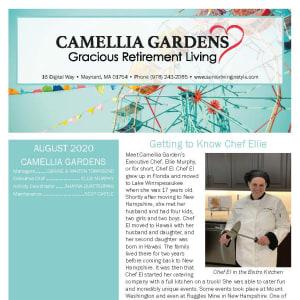August Camellia Gardens Gracious Retirement Living Newsletter