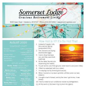 August Somerset Lodge newsletter