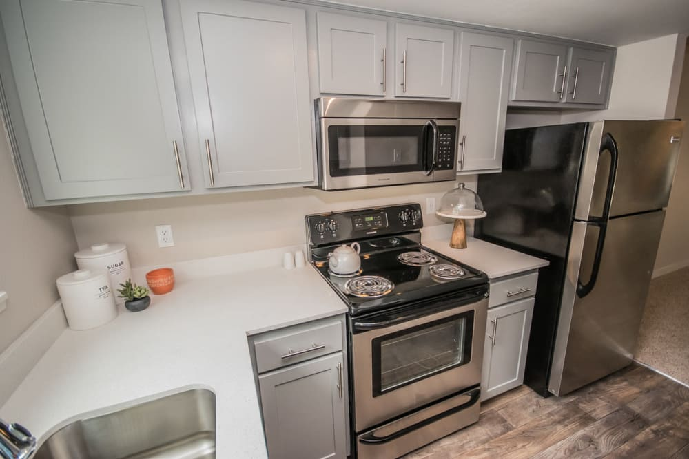 State-of-the-art apartments with energy-efficient appliances in Beaverton, Oregon