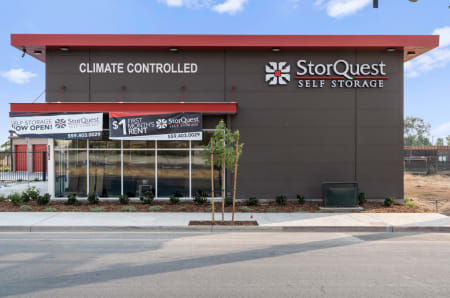 Storefront at StorQuest Self Storage
