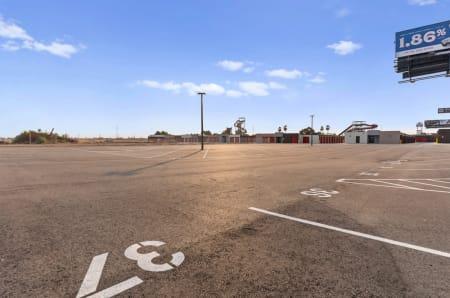 Parking spaces at StorQuest Self Storage