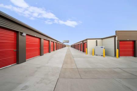 Exterior units at StorQuest Self Storage
