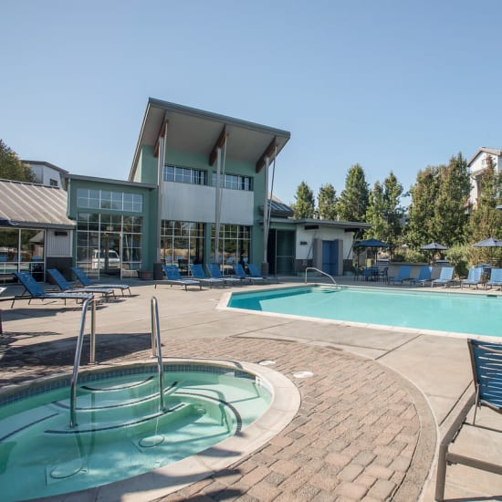 Azure apartments, a sister property to Spring Lake Apartment Homes in Santa Rosa, California