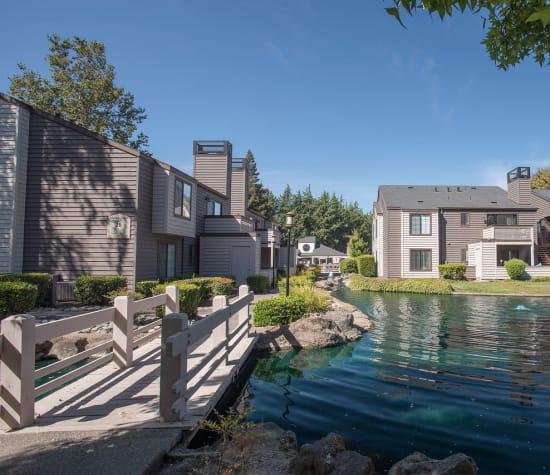 Hidden Lake, a sister property to The Artisan Apartment Homes in Sacramento, California
