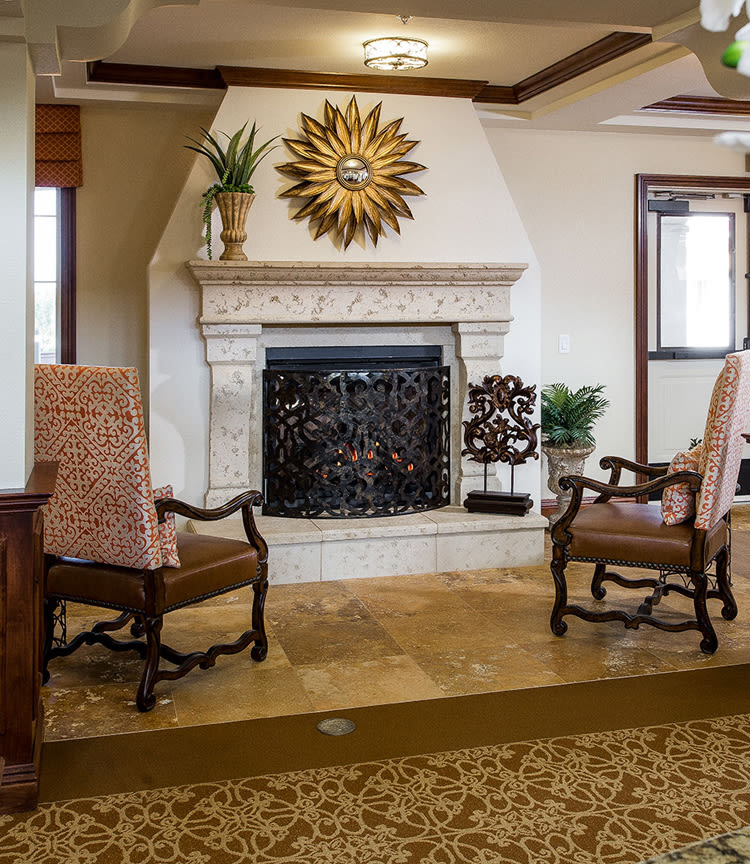 Sitting room at Estancia Del Sol