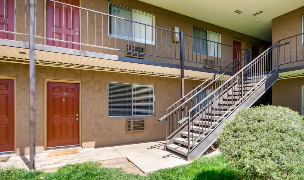 Courtyard unit access at Mountain Vista in Lakewood, Colorado