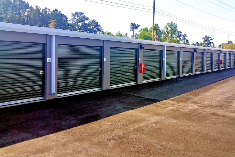 Security Fence at Prime Self Storage in Summerville, South Carolina
