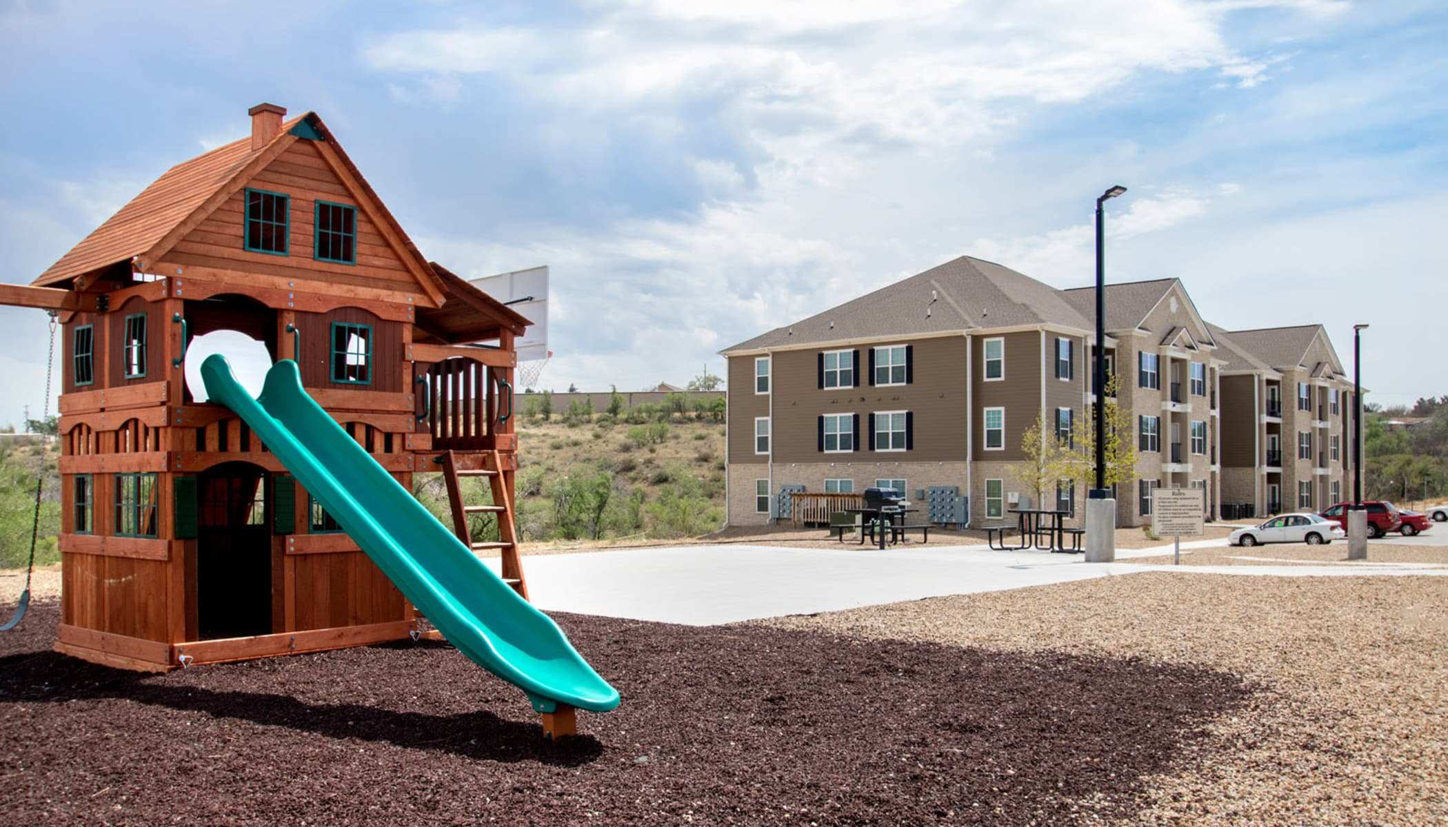 Playground at The Reserves at Brookside in Borger, TX