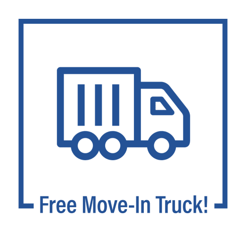 Free Move-In Truck from Castro Valley Hayward Storage LLC in Castro Valley, California