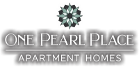 One Pearl Place logo pop out