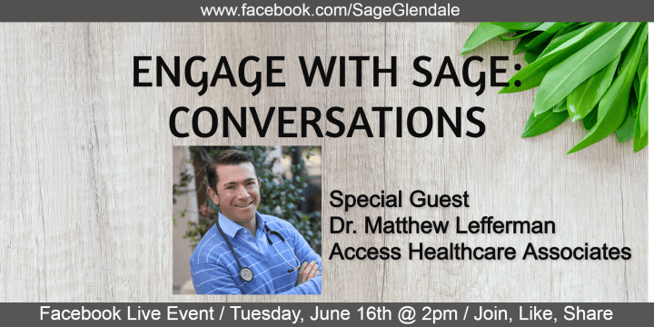 Engage with sage event