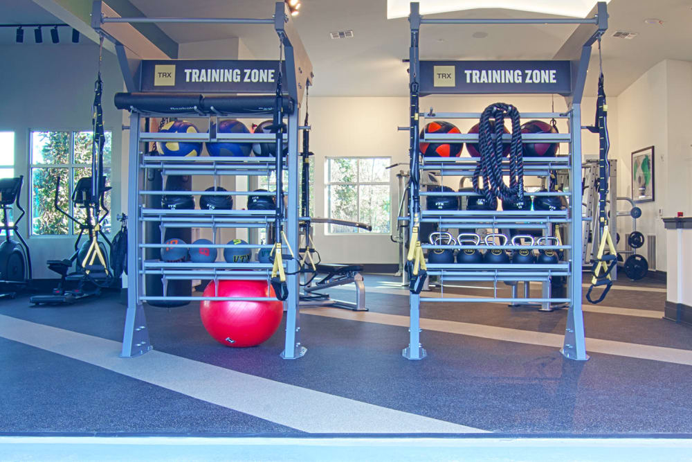 New gym at Integra Crossings in Sanford, Florida
