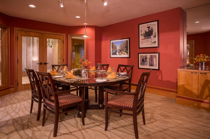 Private Dining Room at All Seasons of Rochester Hills in Rochester Hills, Michigan