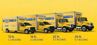 Penske Moving truck rentals at Atlantic Self Storage