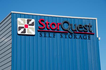 Exterior signage at StorQuest Self Storage in Reno