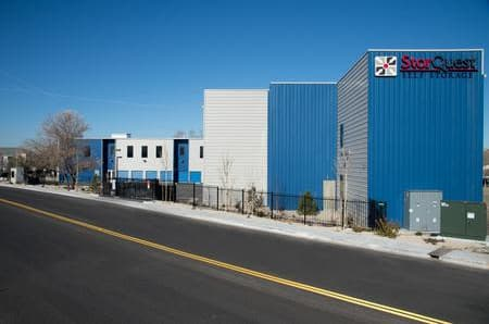 Exterior building at StorQuest Self Storage in Reno