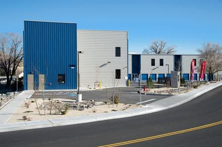 Exterior units at StorQuest Self Storage in Reno