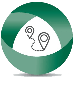 Global Self Storage in Lima, Ohio, map & directions callout