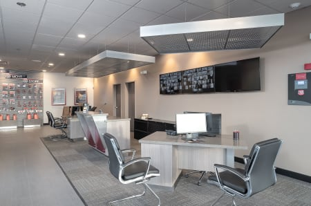 Conference area at StorQuest Self Storage in Fresno, California