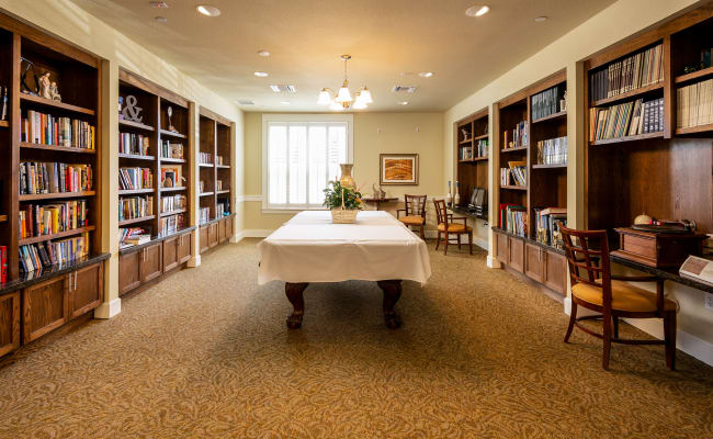 Library at MacArthur Hills in Irving, Texas
