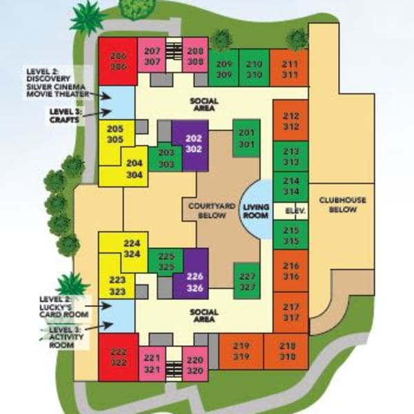 Site Plan for Assisted Living in Melbourne, FL
