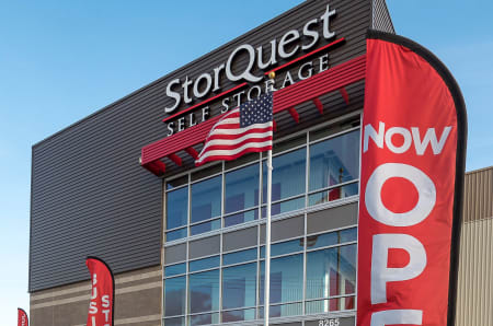 Exterior photo of StorQuest Self Storage in Modesto, California