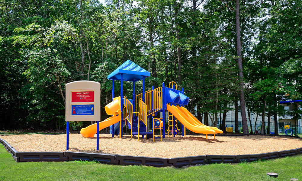 A playground that is great for kids activities at apartments in Absecon, New Jersey