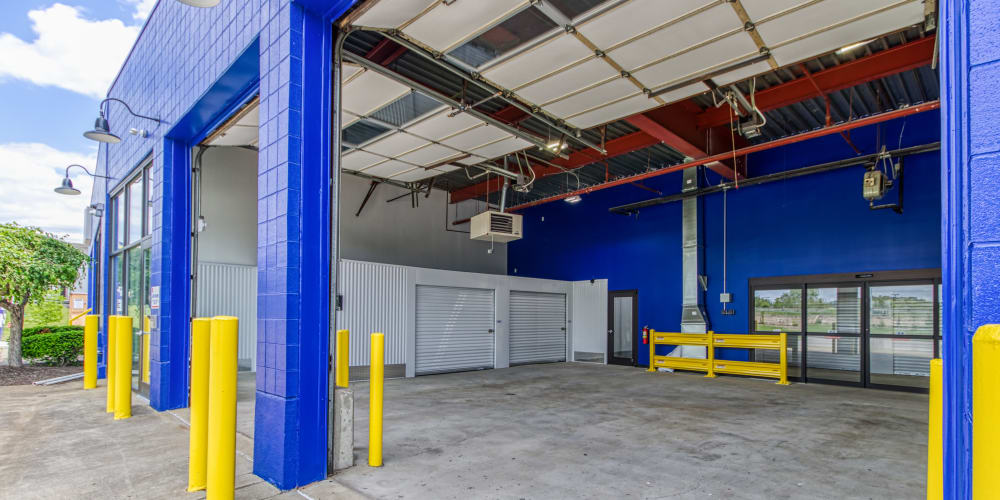 Loading area at Devon Self Storage in Cincinnati, Ohio