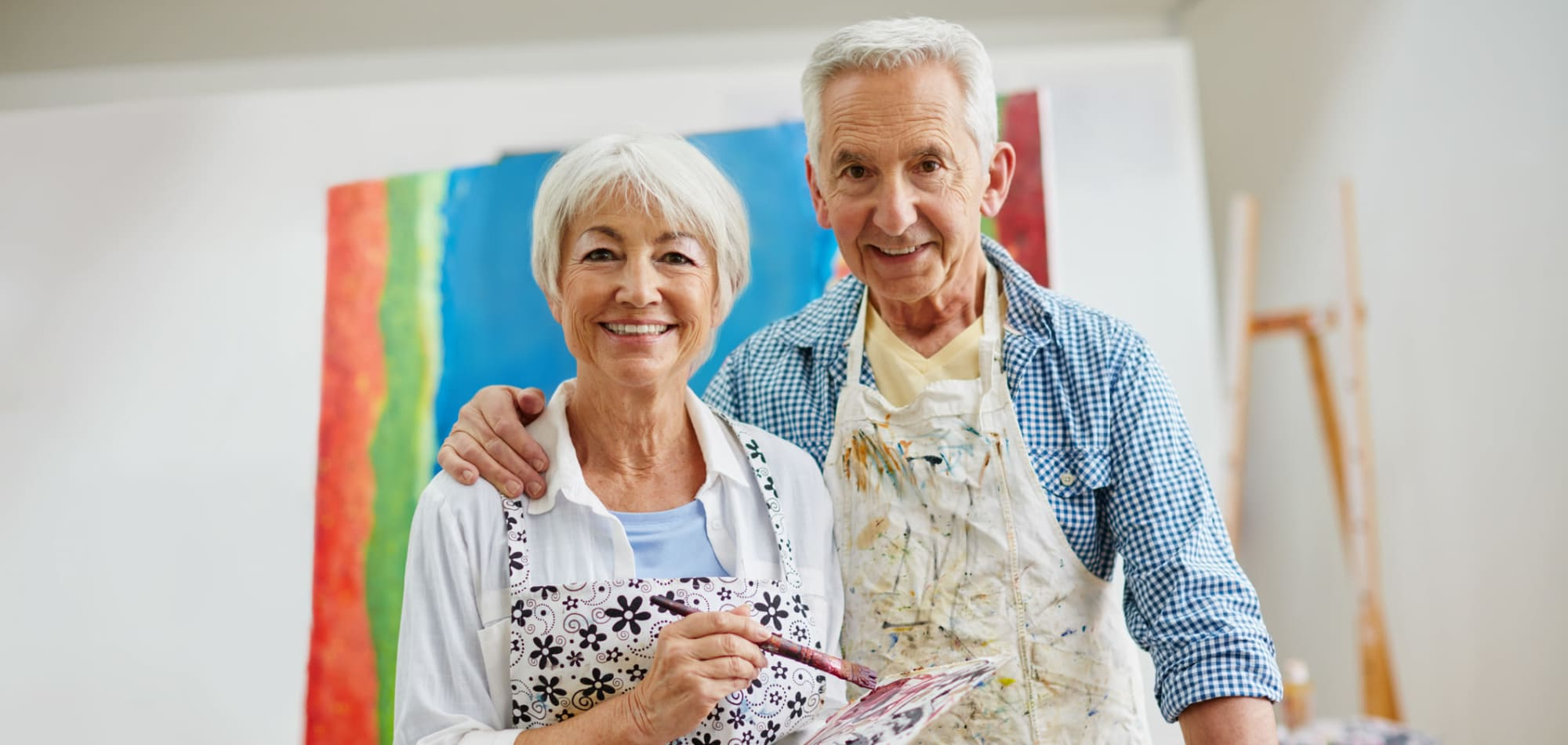 Arts and crafts activities for residents of Arbor Hills in Lakeland, Florida