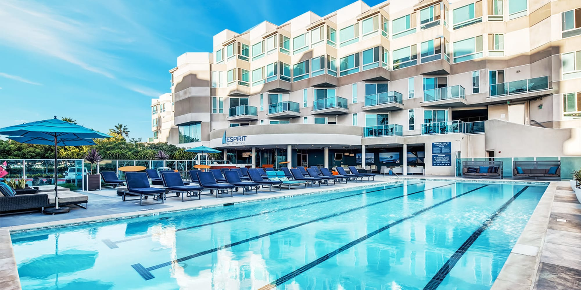 Link to a virtual tour of our community at Esprit Marina del Rey in Marina Del Rey, California