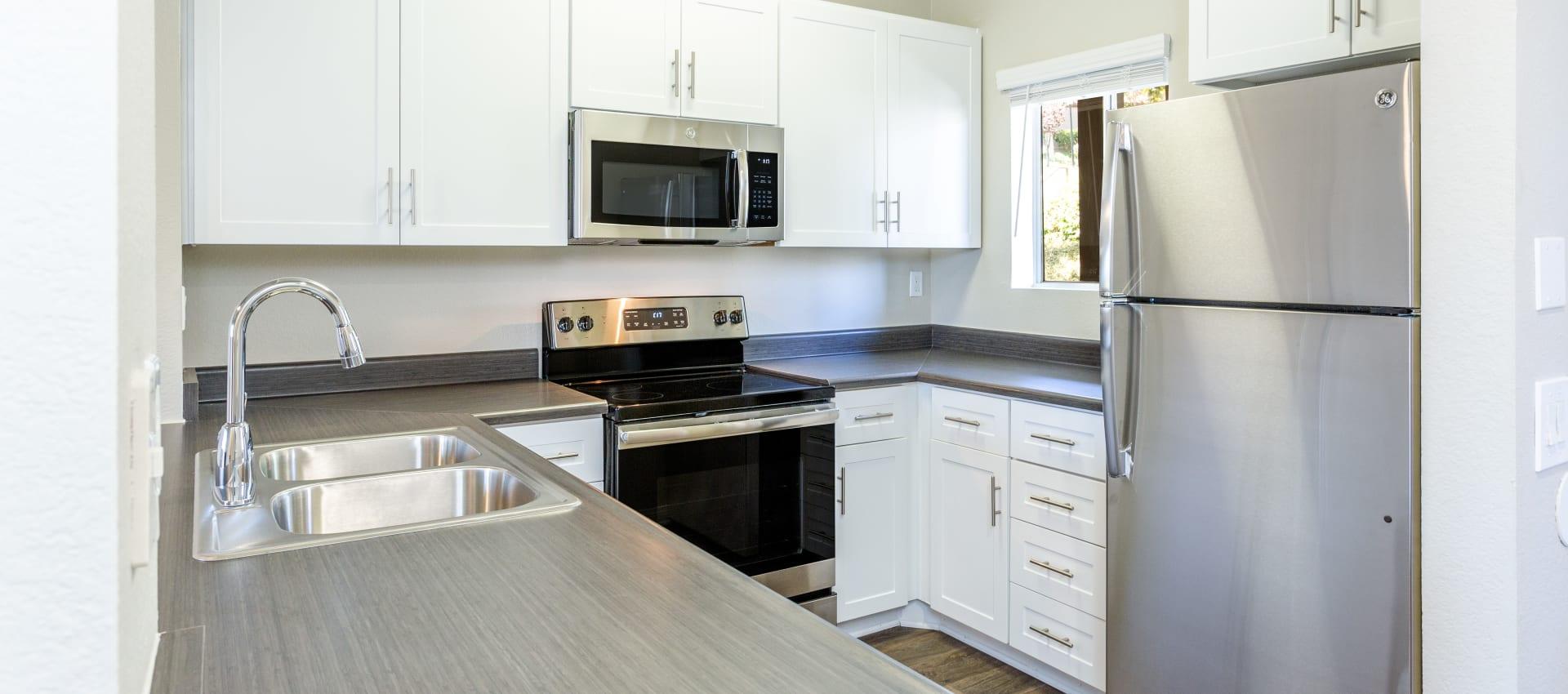 Kitchen at Niguel Summit Condominium Rentals in Laguna Niguel, CA