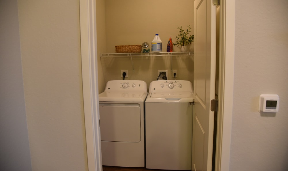 In-unit laundry at Springs at Port Charlotte in Port Charlotte