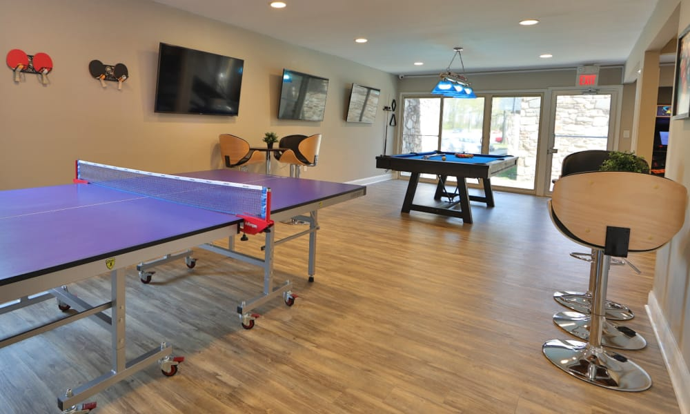 Social Lounge at The Colony at Towson Apartments & Townhomes