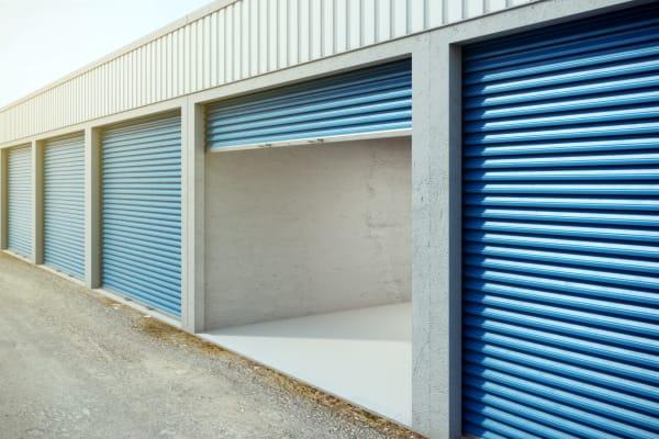Outdoor storage units at ABC Mini Storage in Washington