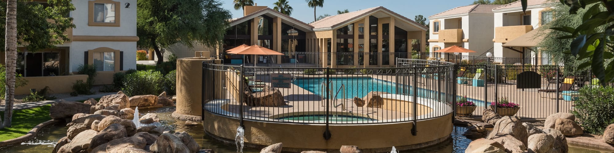 Amenities at Club Cancun in Chandler, Arizona