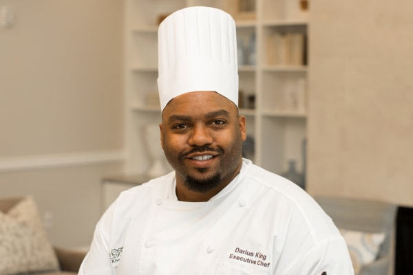 Darius King, Executive Chef