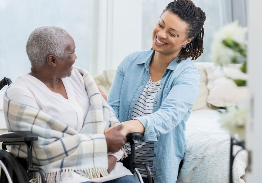Learn more about assisted living at Regency Palms Colton in Colton, California
