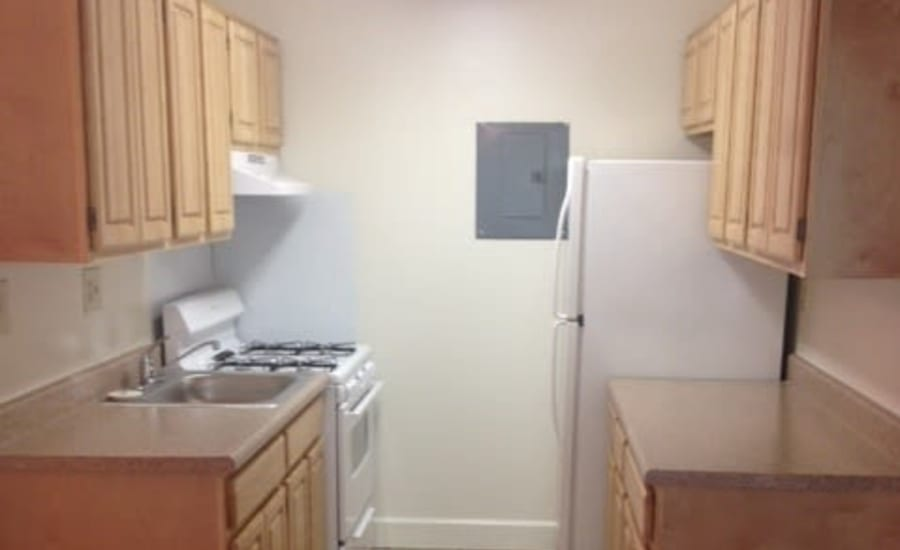 Kitchen at Westgate Apartments & Townhomes in Manassas, Virginia