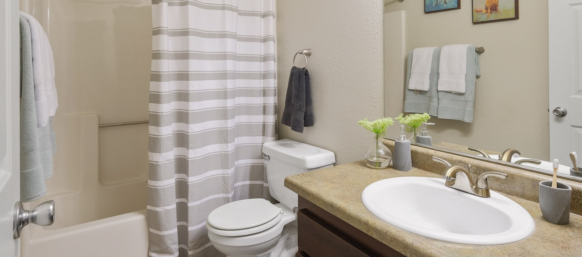 Bathroom at Waterhouse Place in Beaverton, OR