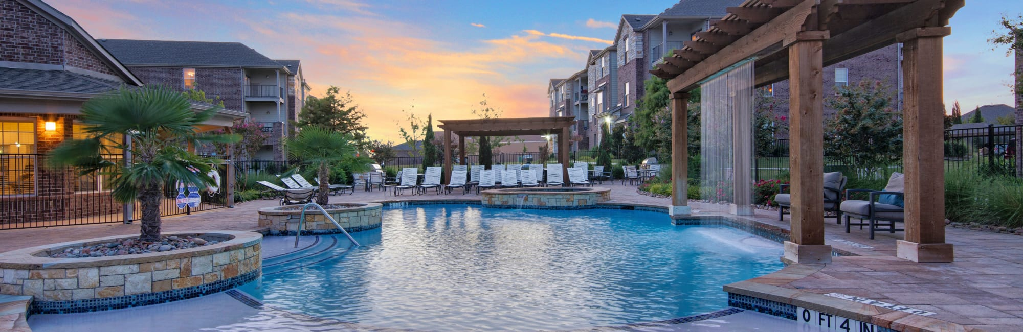 Apartments at Creekside South in Wylie, Texas