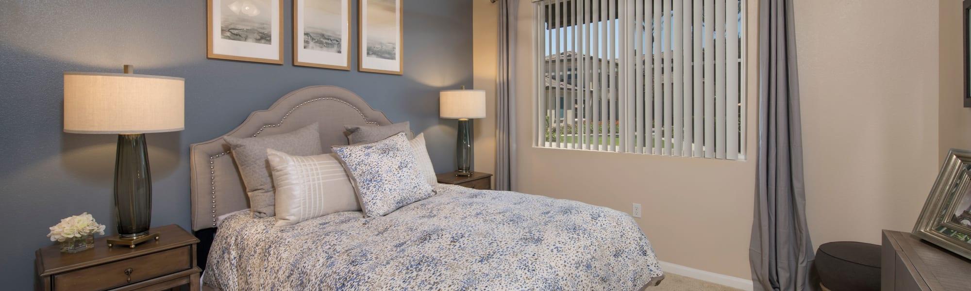 Floor plans at Esplanade Apartment Homes in Riverside, California