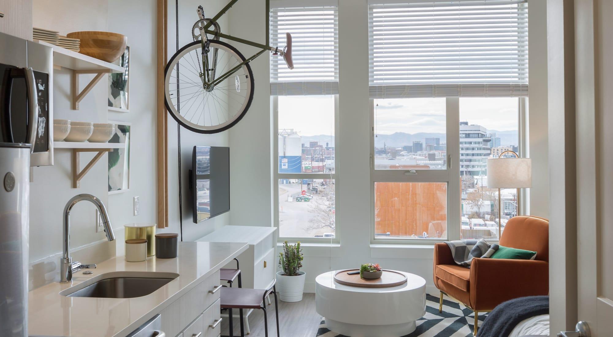 RiDE at RiNo apartments in Denver, Colorado