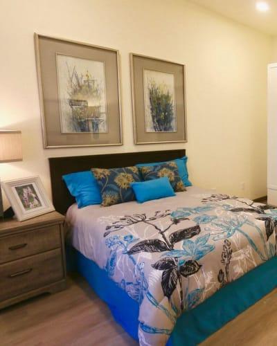 A Seasons Living memory care apartment