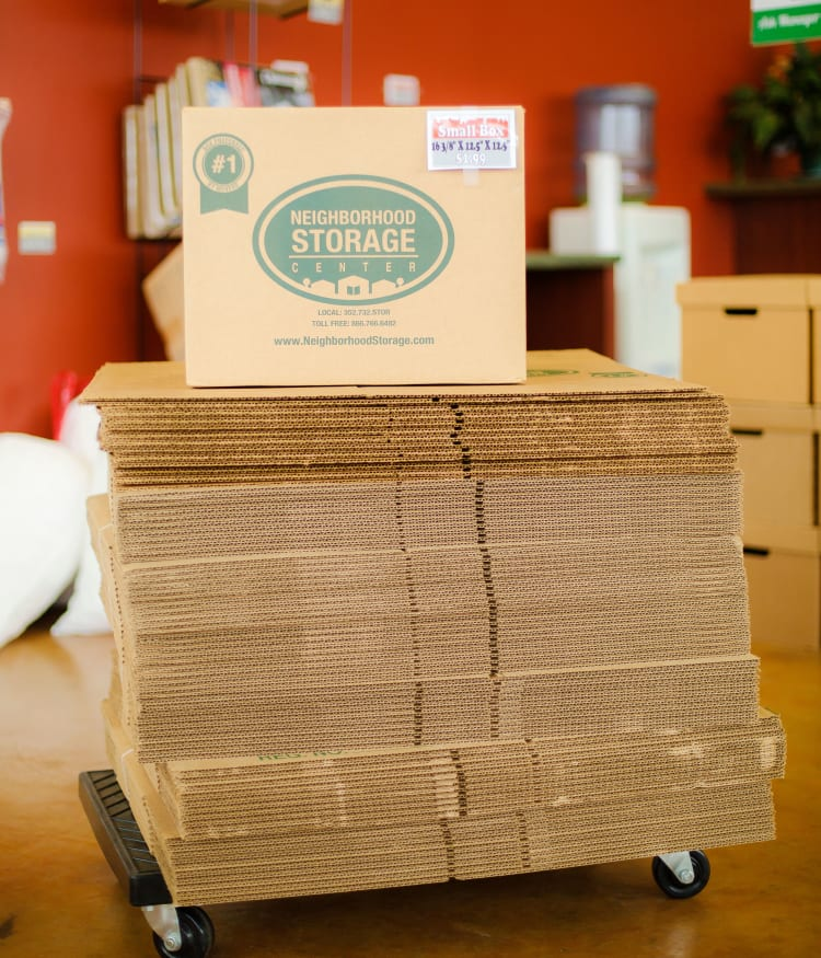 Neighborhood Storage has all the features you're looking for in your storage unit!