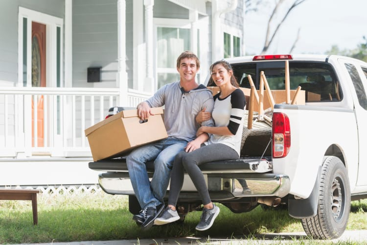 Moving truck rentals at Armadillo Self Storage South