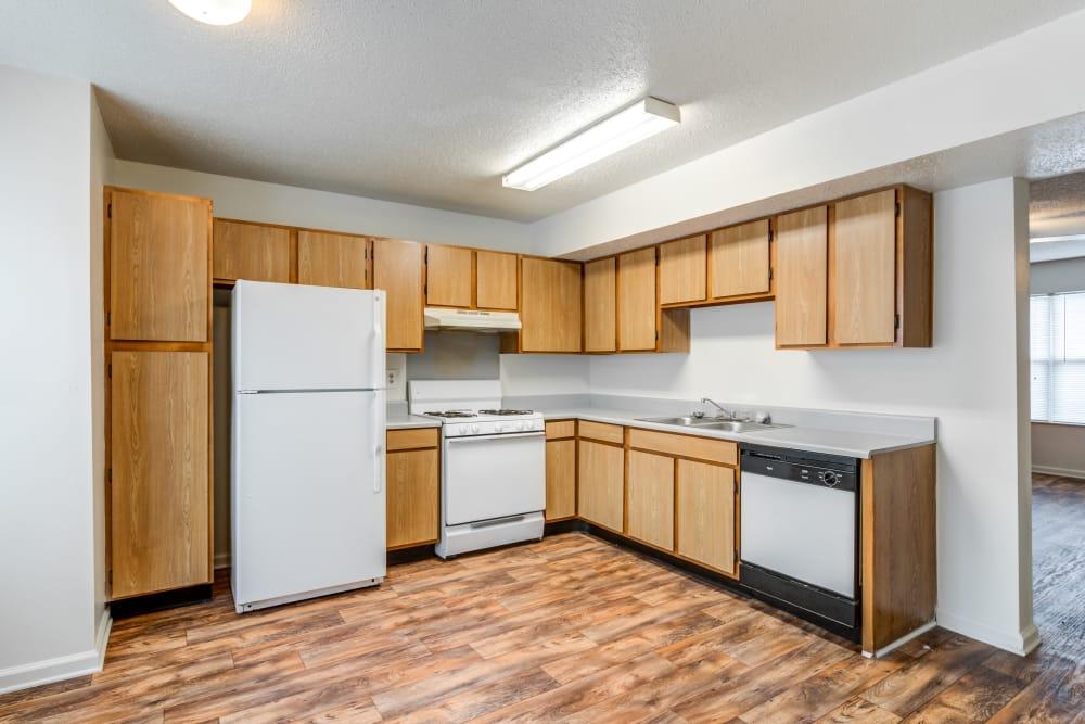 Kitchen at Green Wood