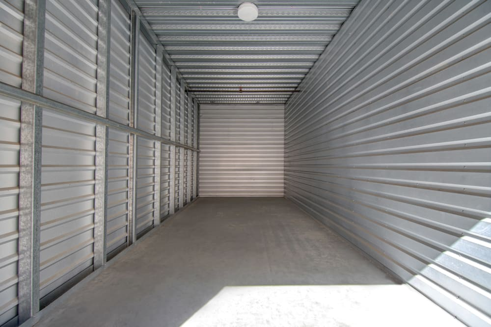 Large drive up units at Jamacha Point Self Storage