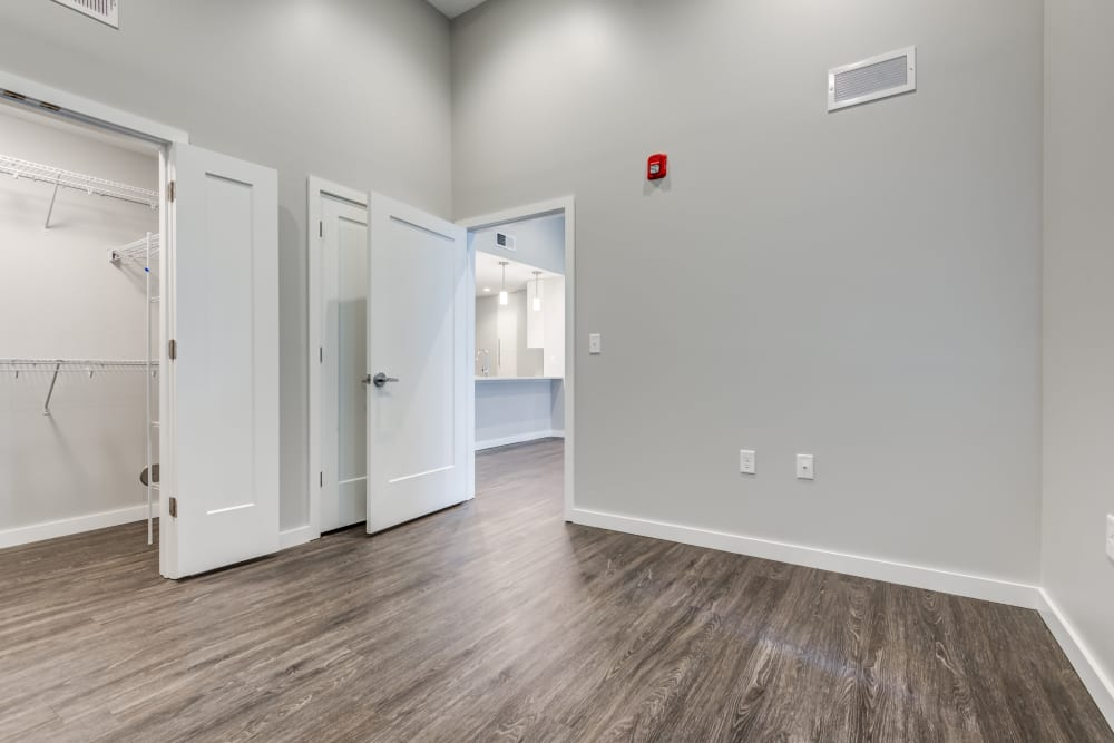brand new open concept floor plan at The Forge in Buffalo, New York
